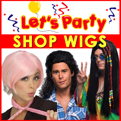 Let's Party Wigs